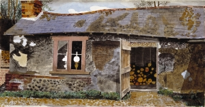 Kenneth Rowntree, Lamp and Log Shed